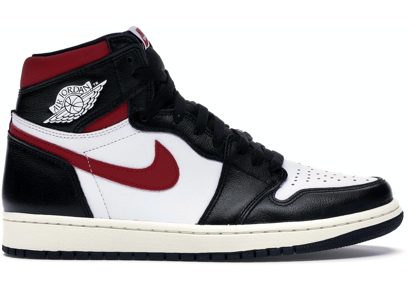 30c5ae7b334 Jordan 1 Retro High Black Gym Red