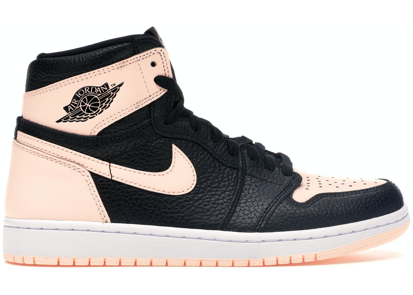 5883c7b0 Jordan 1 Retro High Black Crimson Tint - 555088-081