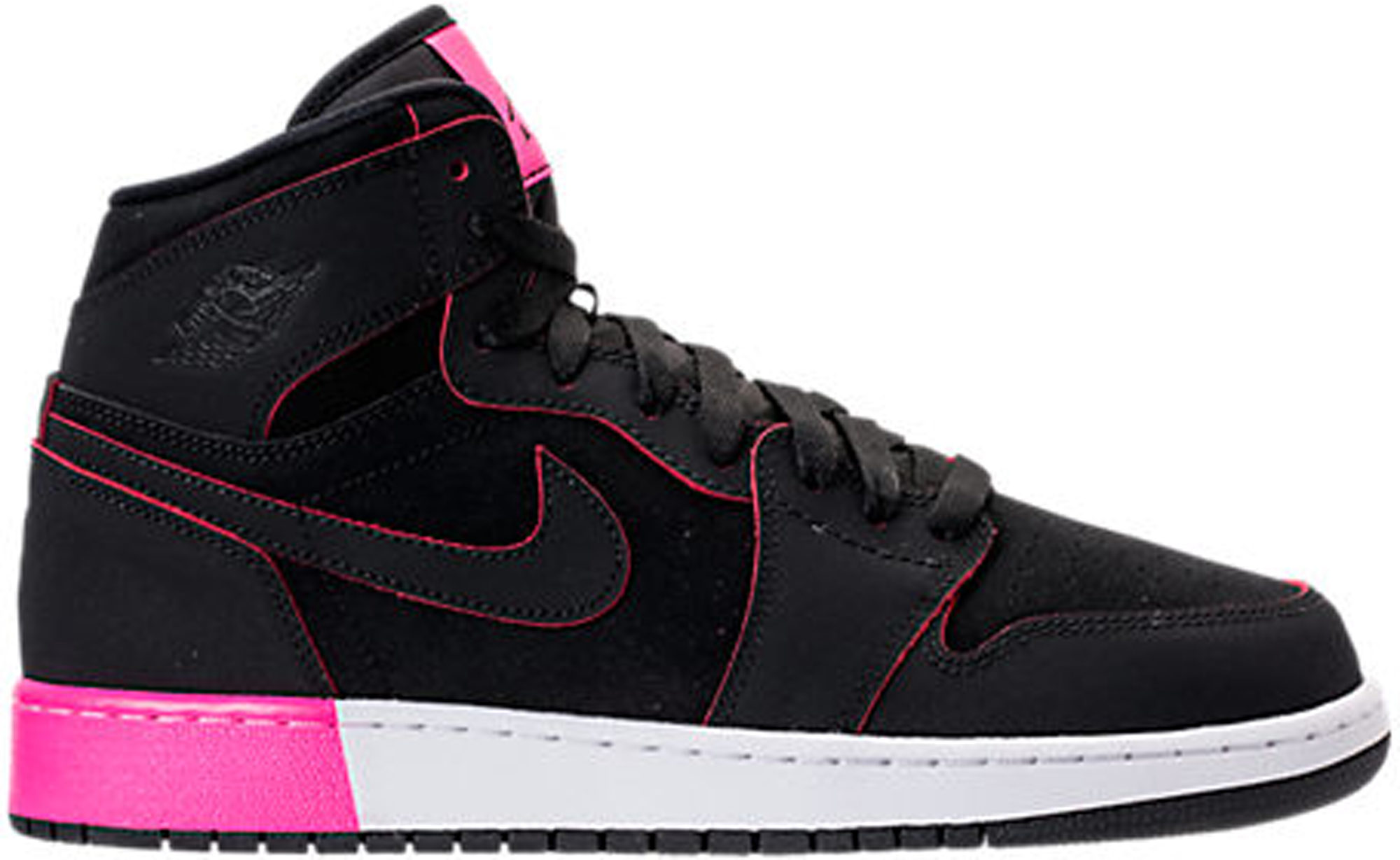 Black Hyper Pink White (GS) - 332148-024