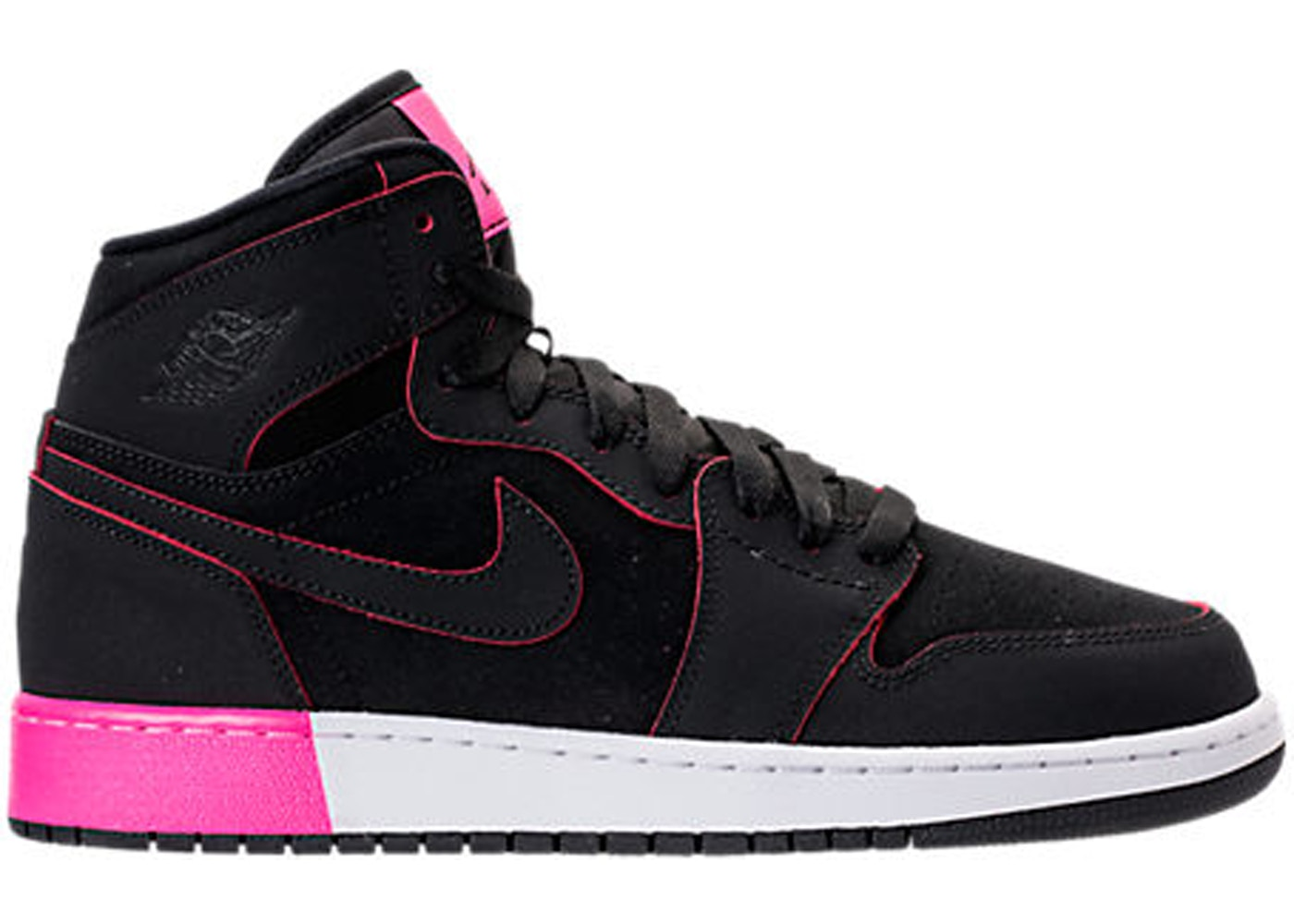 c6c975b78468 Sell. or Ask. Size  9.5Y. View All Bids. Jordan 1 Retro High Black Hyper Pink  White (GS)