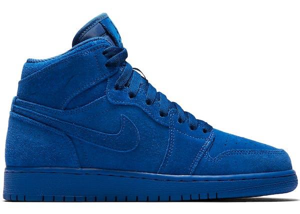 air jordan 1 blue suede