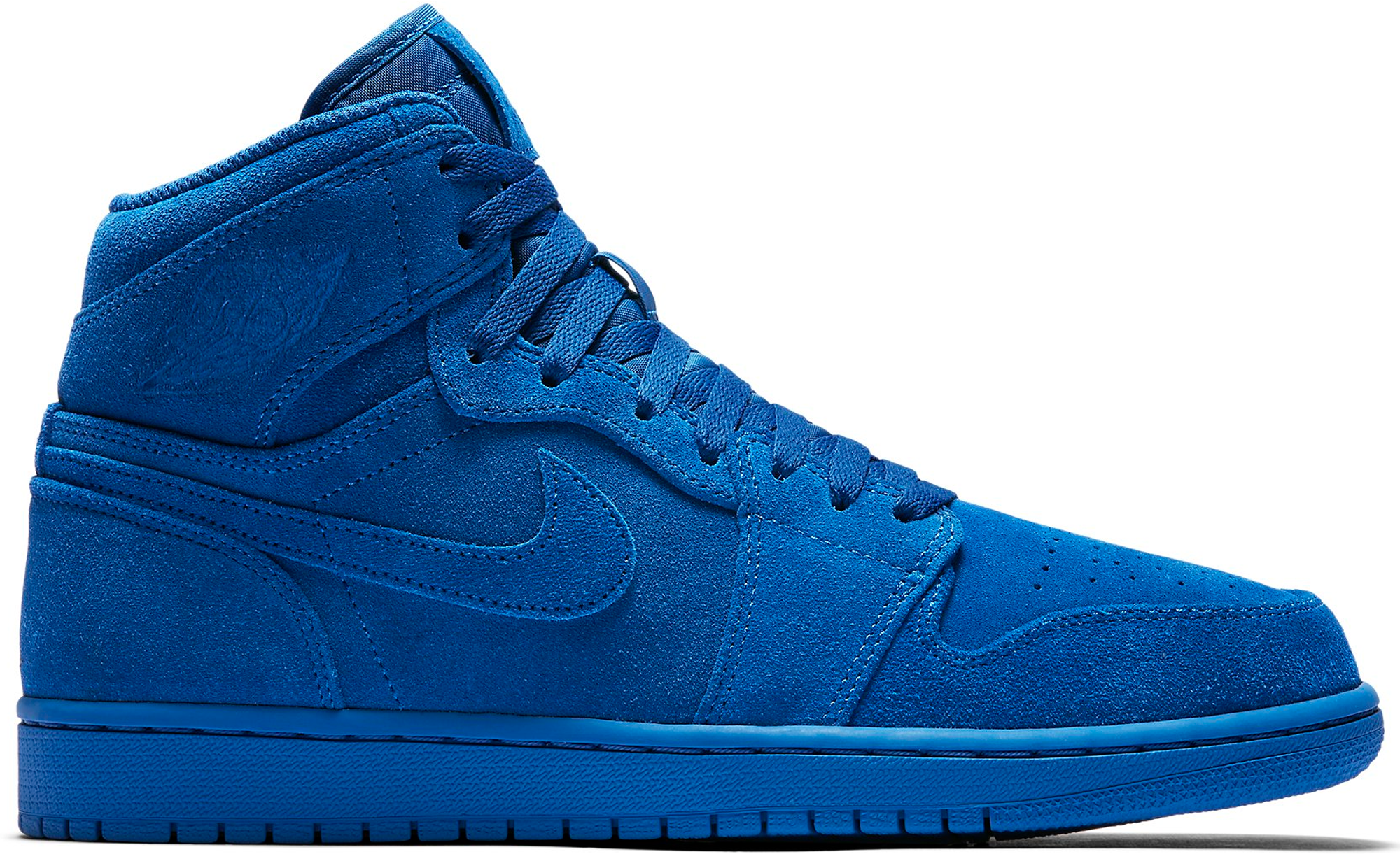 Jordan 1 Retro Blue Suede