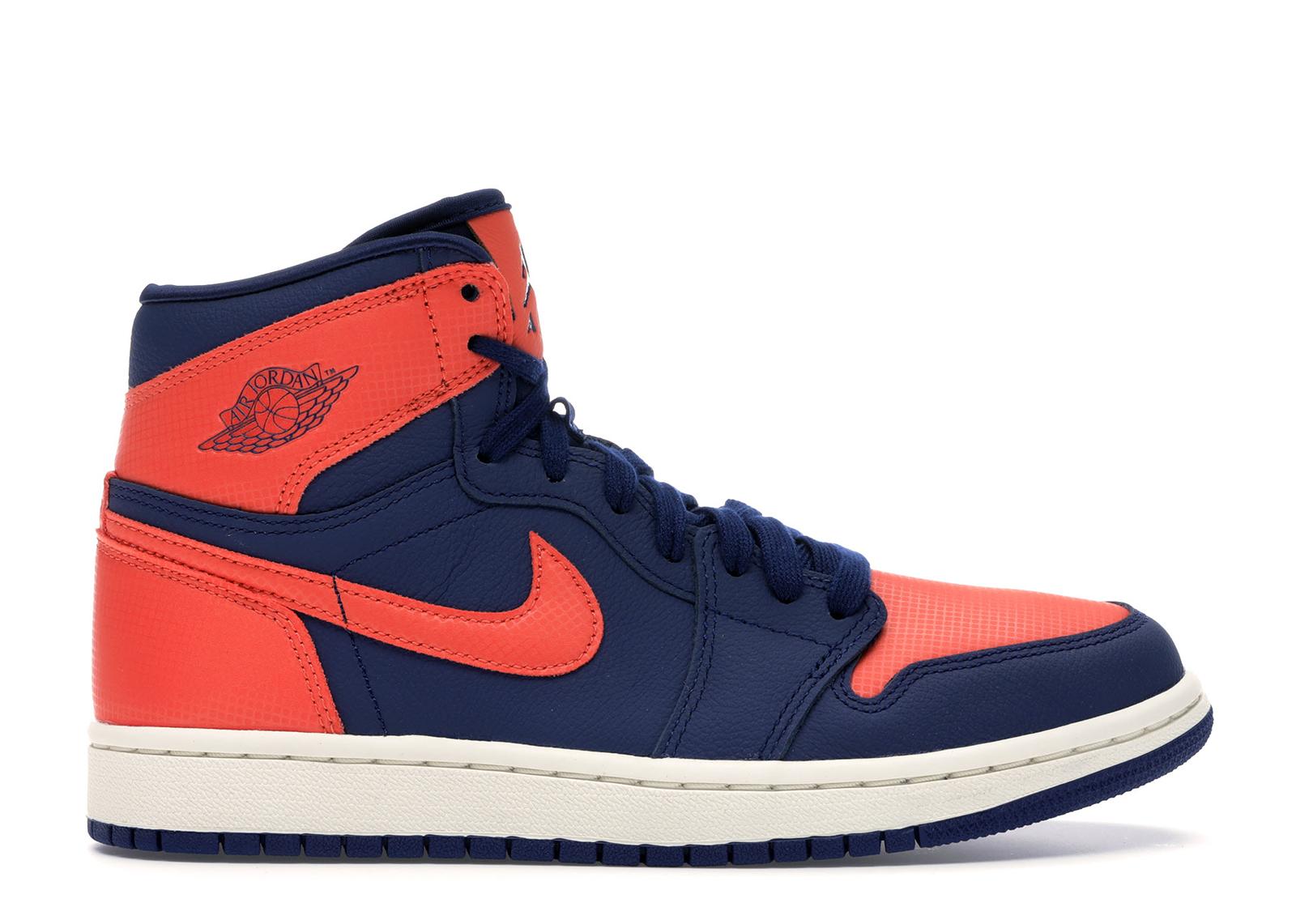 jordan 1 blue orange