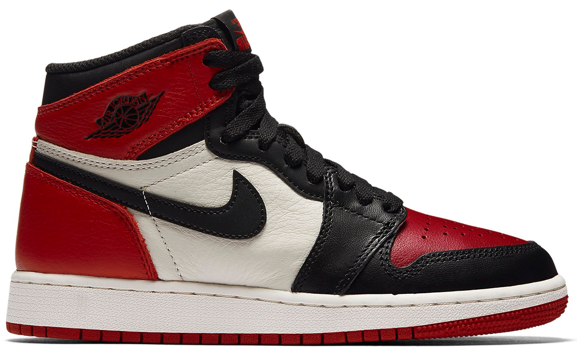 Jordan 1 Retro High Bred Toe (GS)