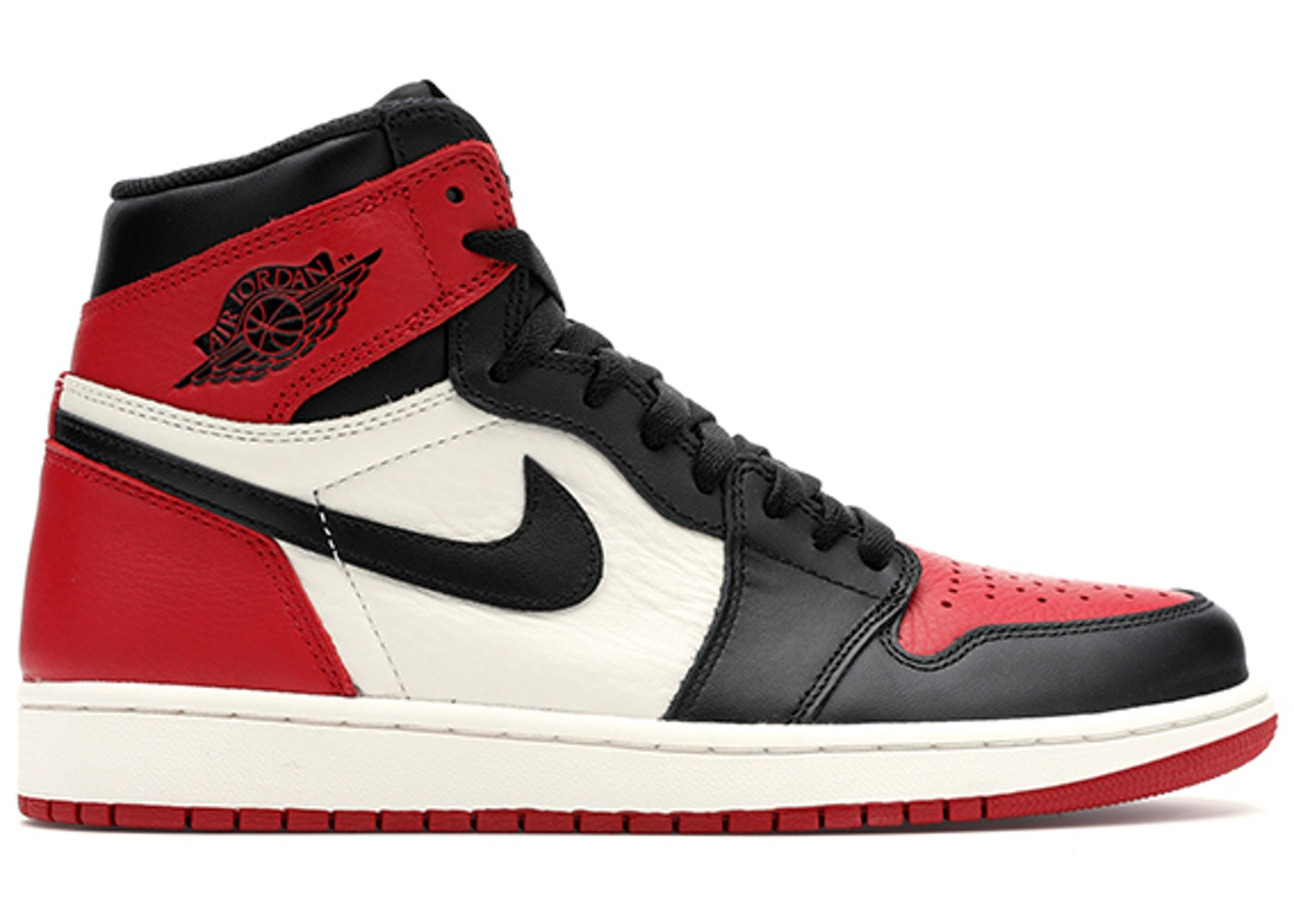 buy popular f1bf1 60ae7 Jordan 1 Retro High Bred Toe - 555088-610