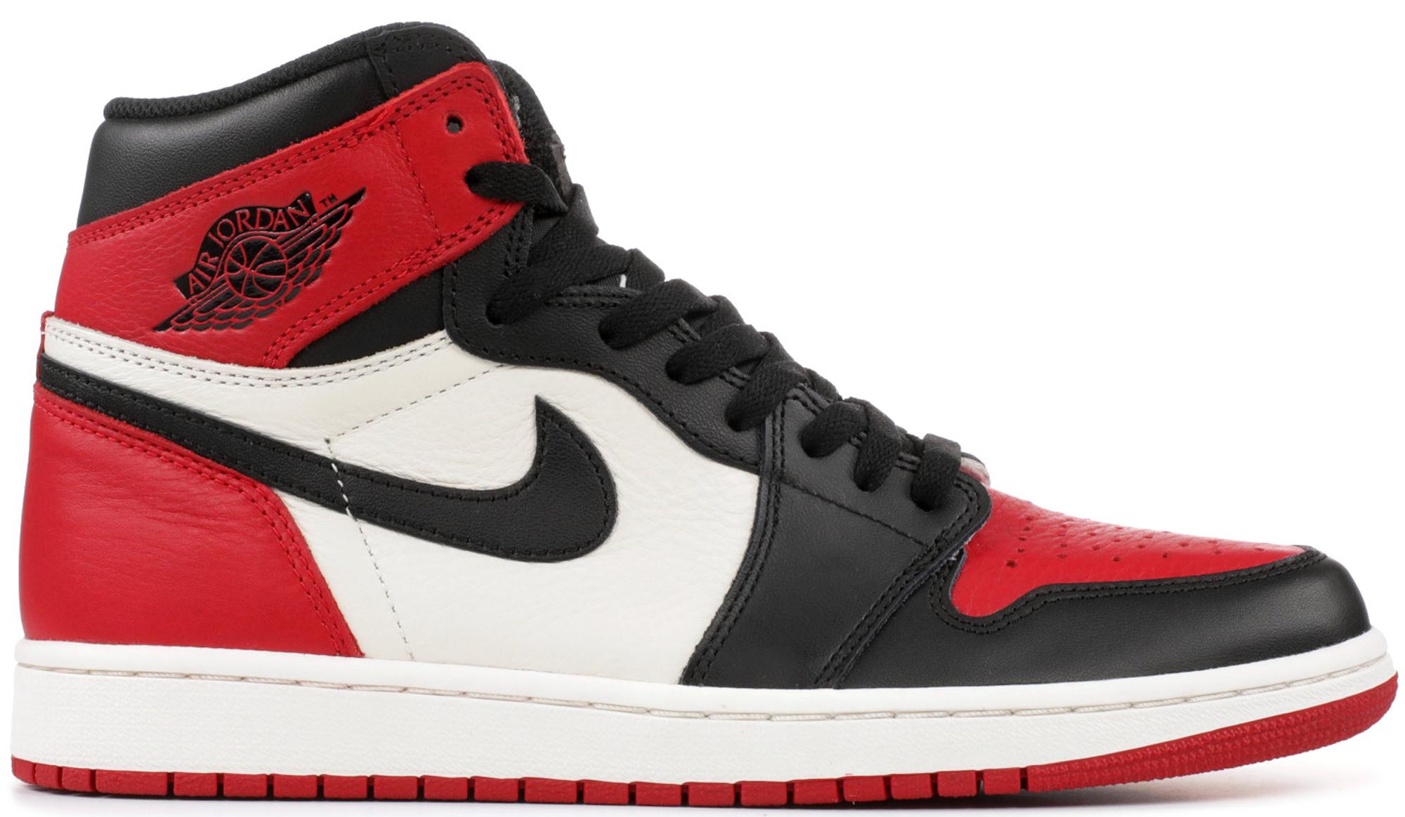 air jordan 1 retro high og bred toe stock x shoes