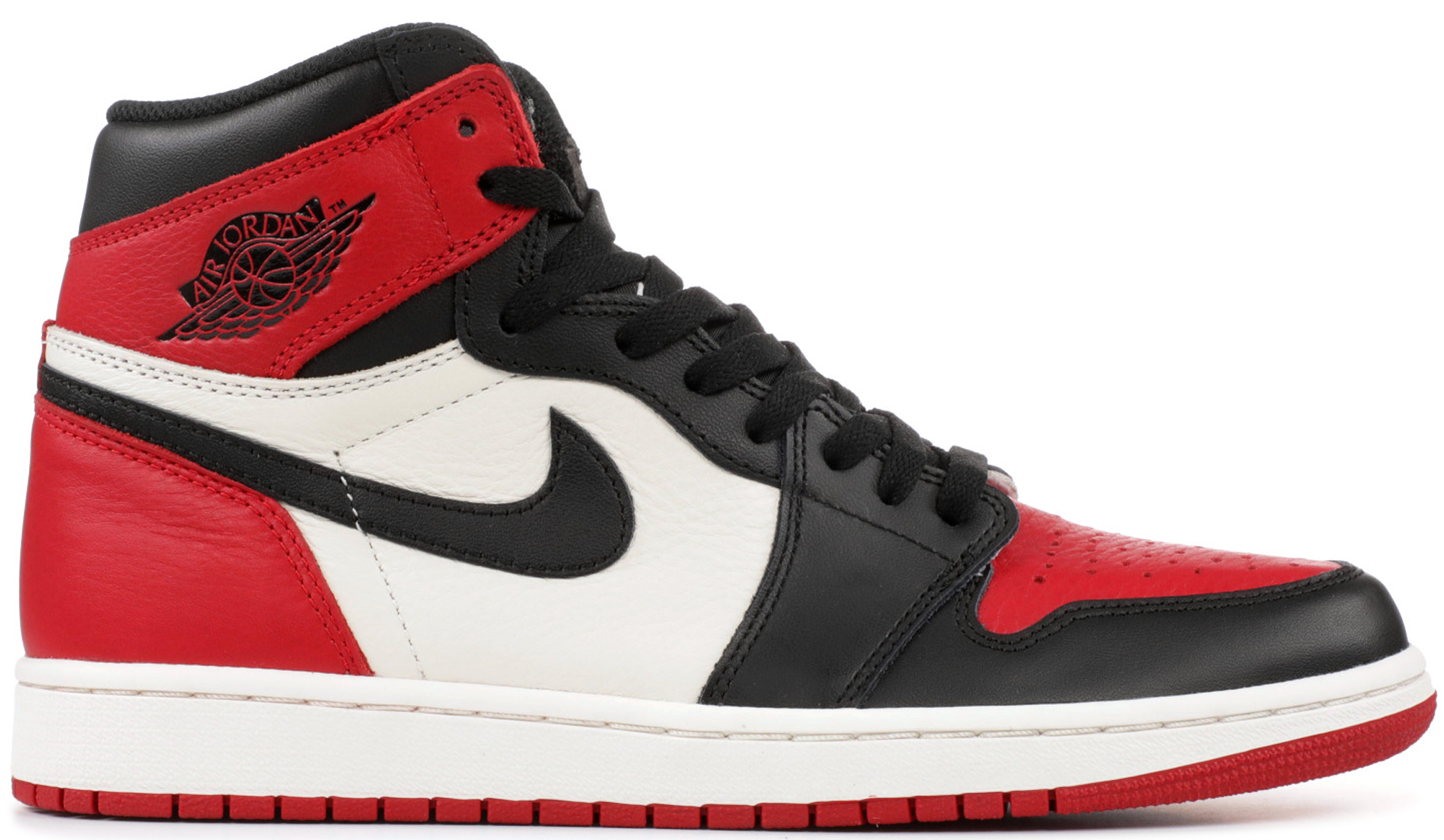 air jordan i retro high 'bred toe' price