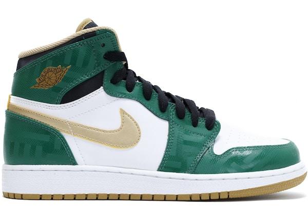 separation shoes 62d3b 5277f Jordan 1 Retro High Celtics (GS) - 575441-315