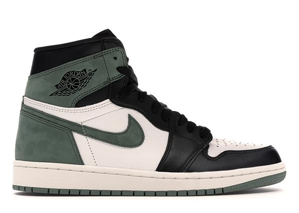 Jordan 1 Retro High Clay Green - 555088-135