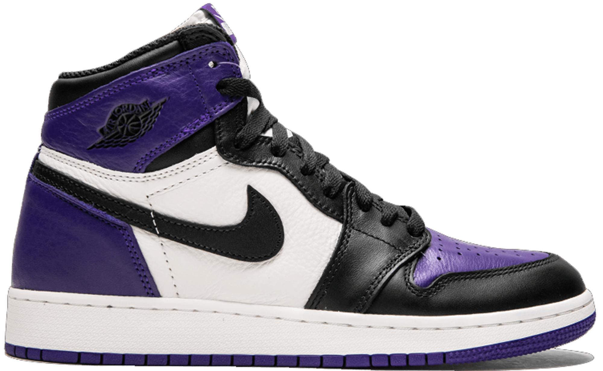 Jordan 1 Retro High Court Purple (GS