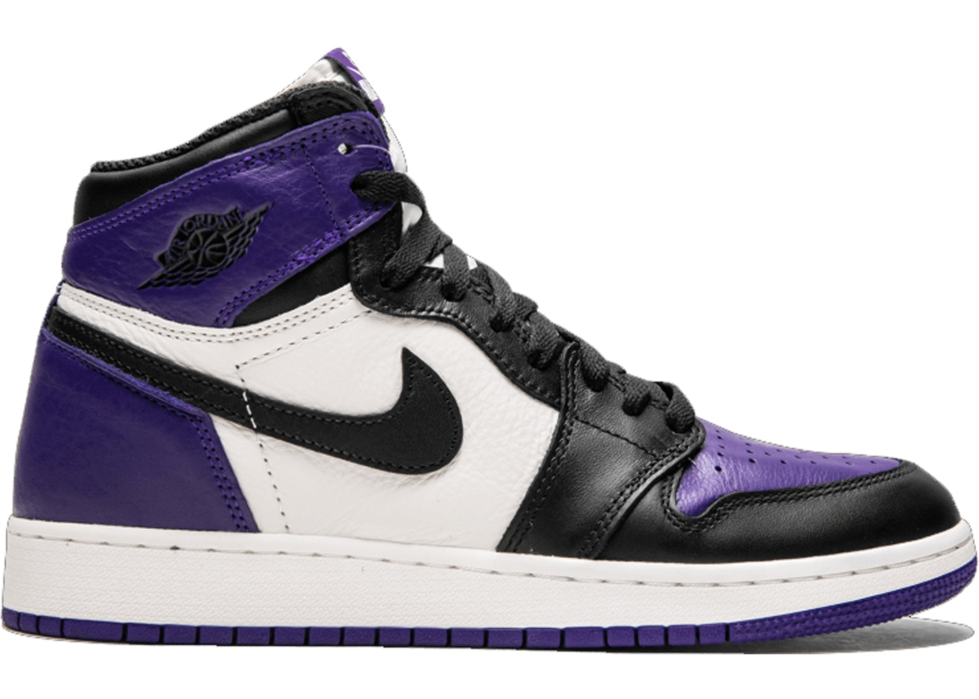 2f0bbaa06cb Jordan 1 Retro High Court Purple (GS) - 575441-501