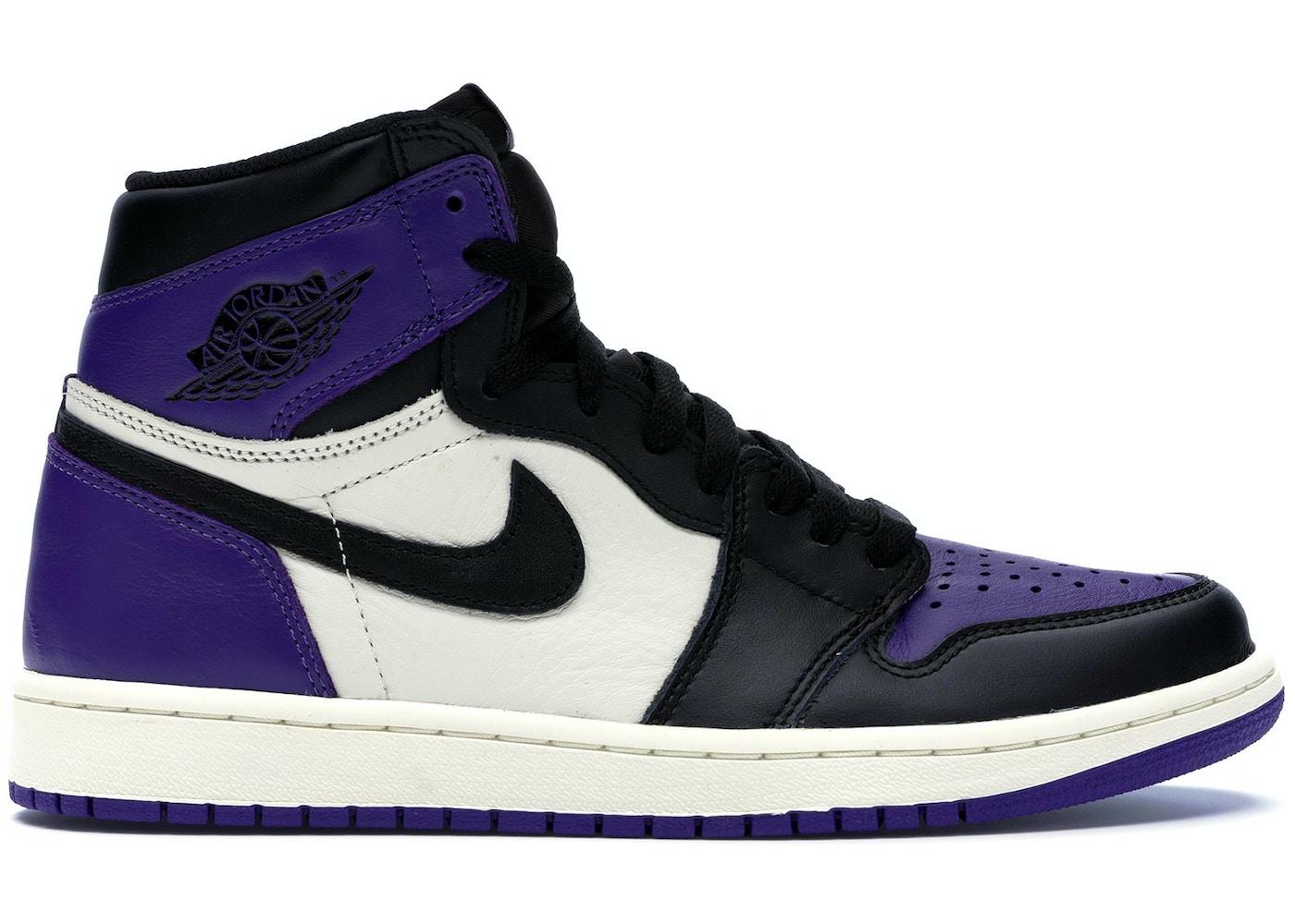 sale retailer c2767 121a6 Jordan 1 Retro High Court Purple