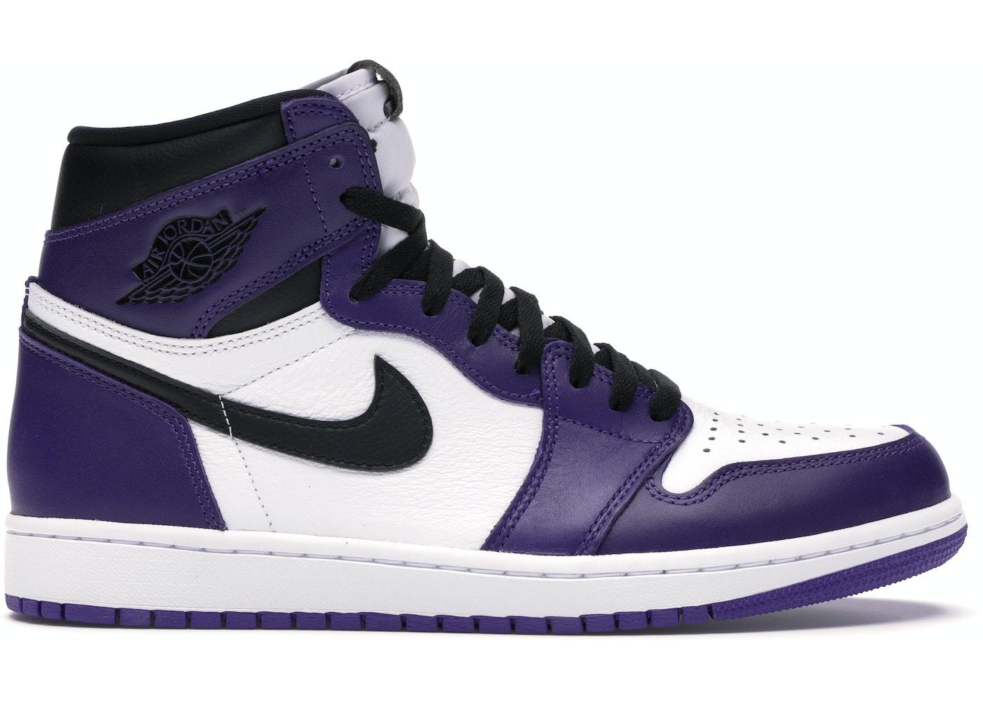 Jordan 1 Retro High Court Purple White 555088 500