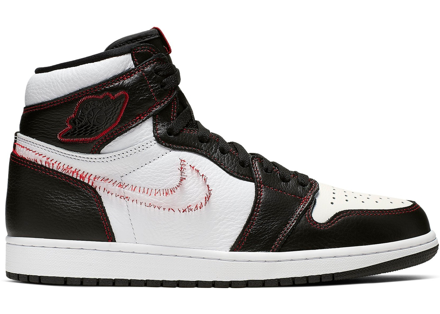 Defiant Red High White Jordan Retro 1 Black Gym 8v0mnwON