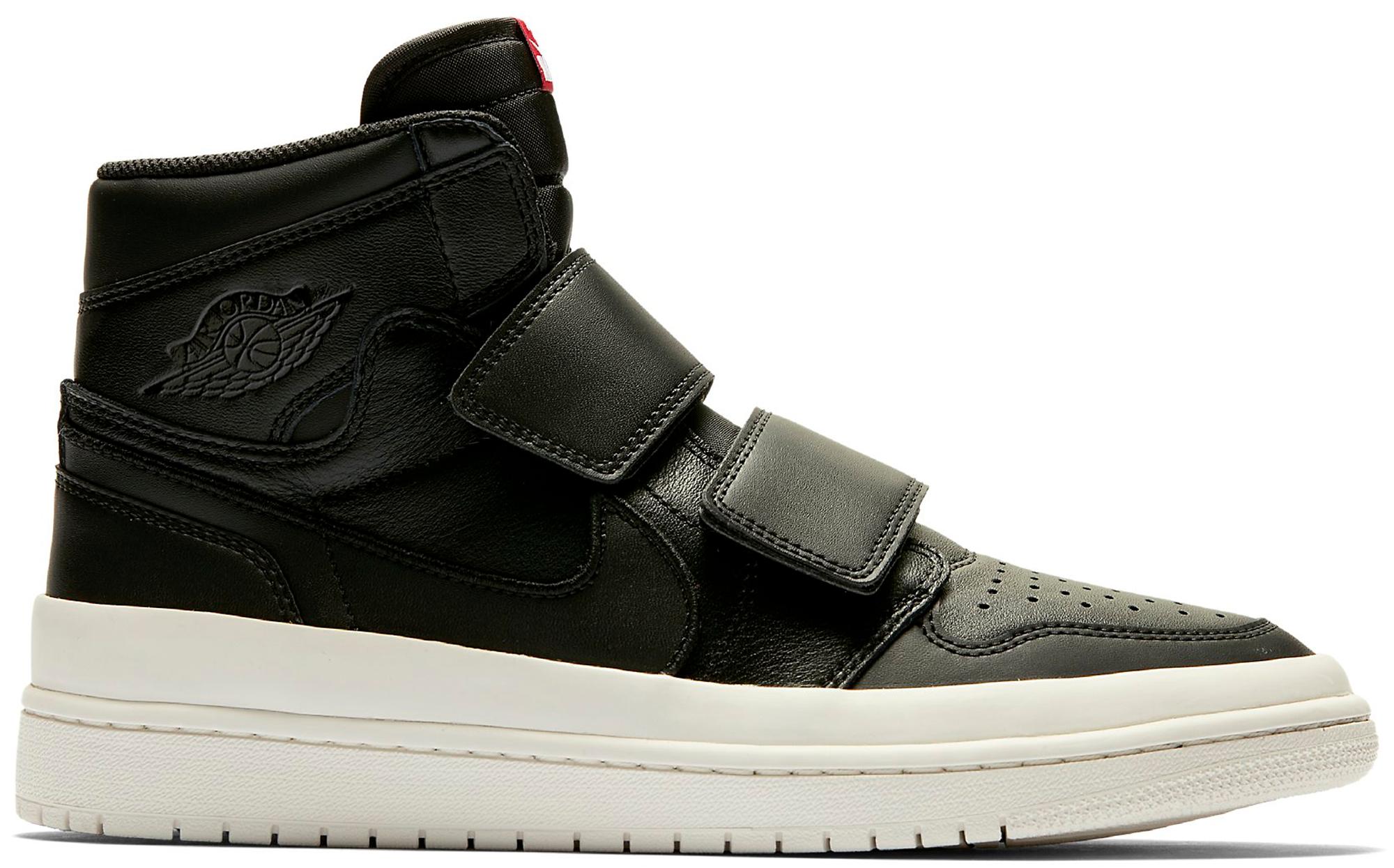 Jordan 1 Retro High Double Strap Black