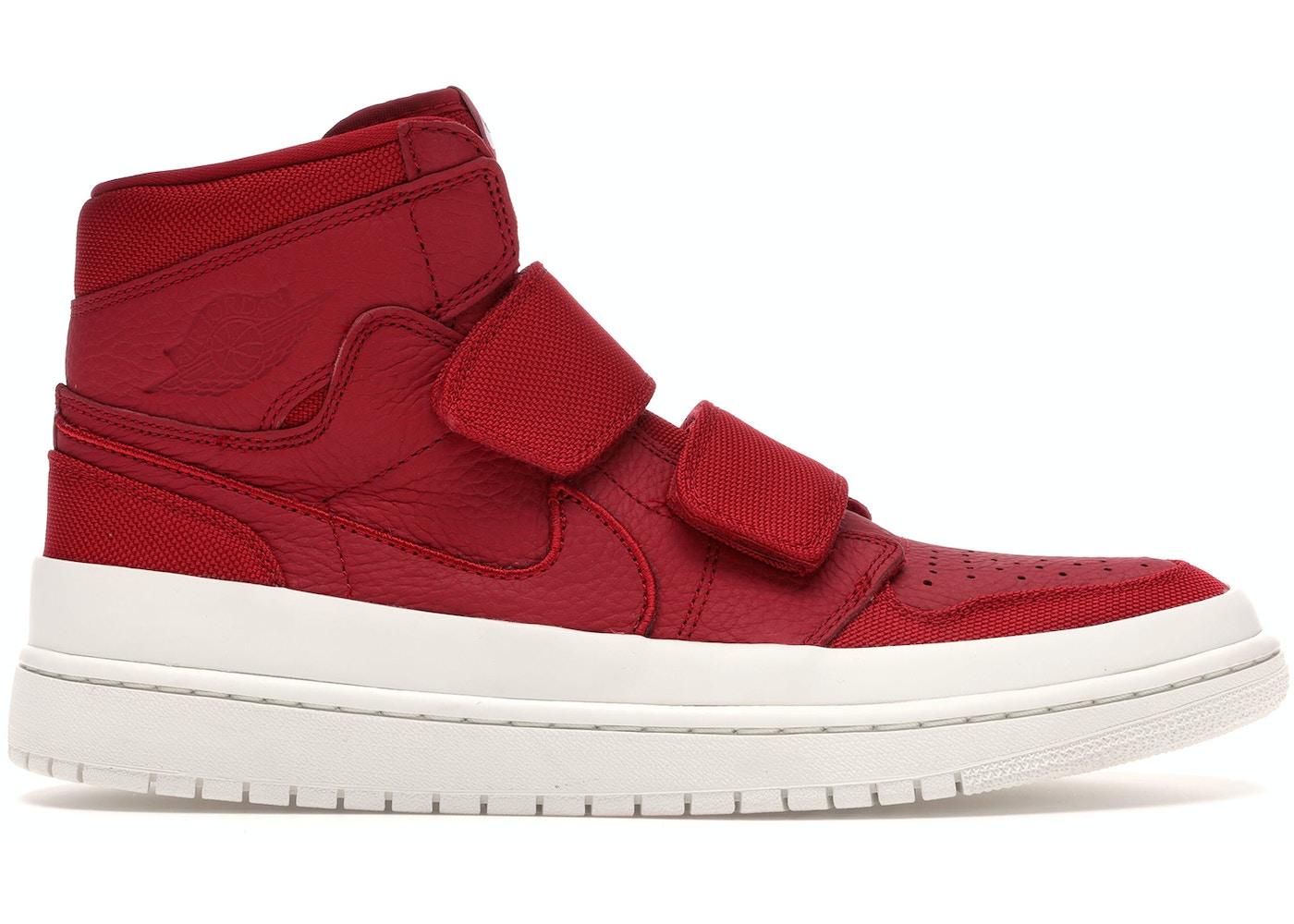 100% authentic dd980 e6684 Jordan 1 Retro High Double Strap Gym Red