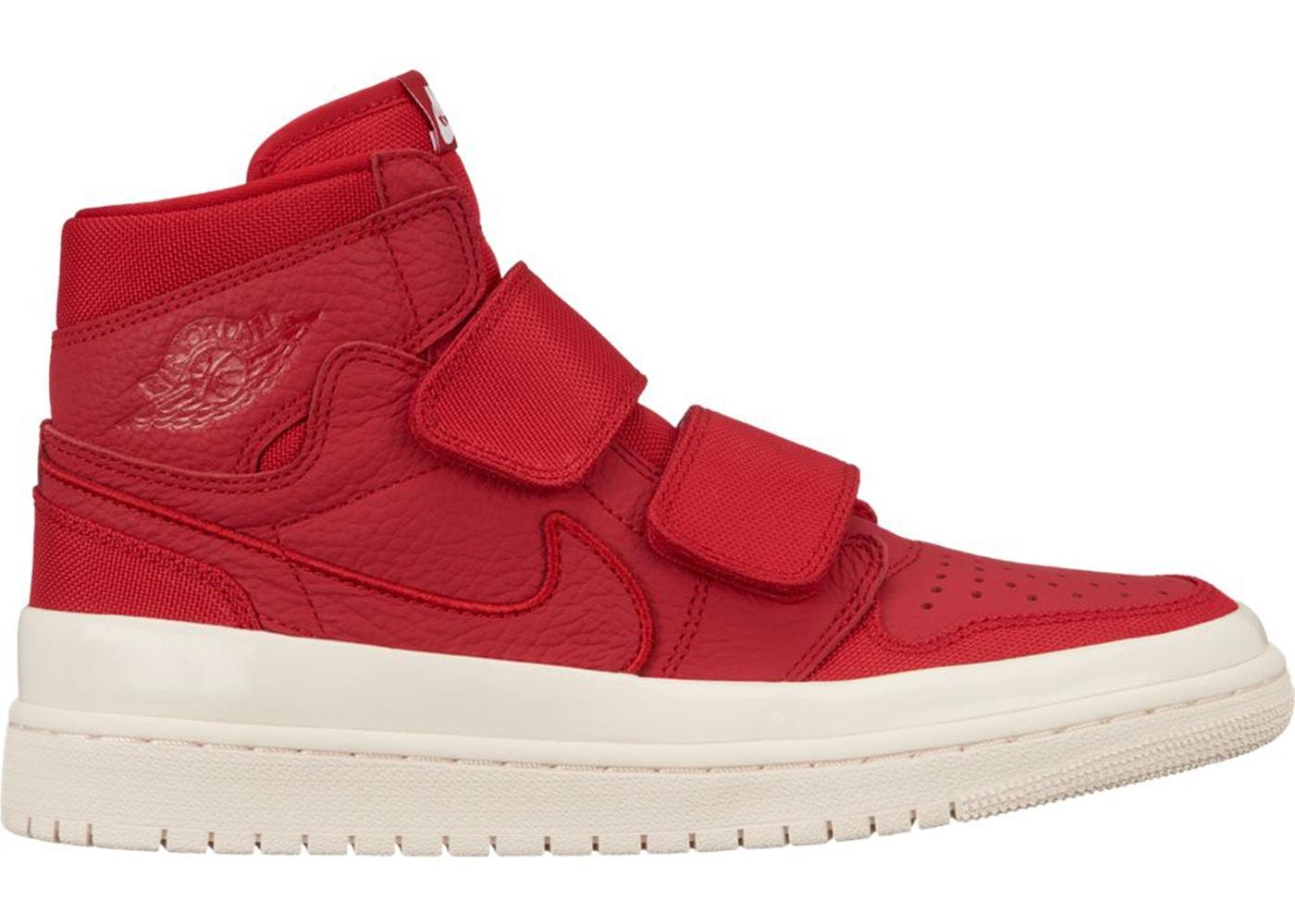 19a1c657256 Jordan 1 Retro High Double Strap Gym Red - AQ7924-601