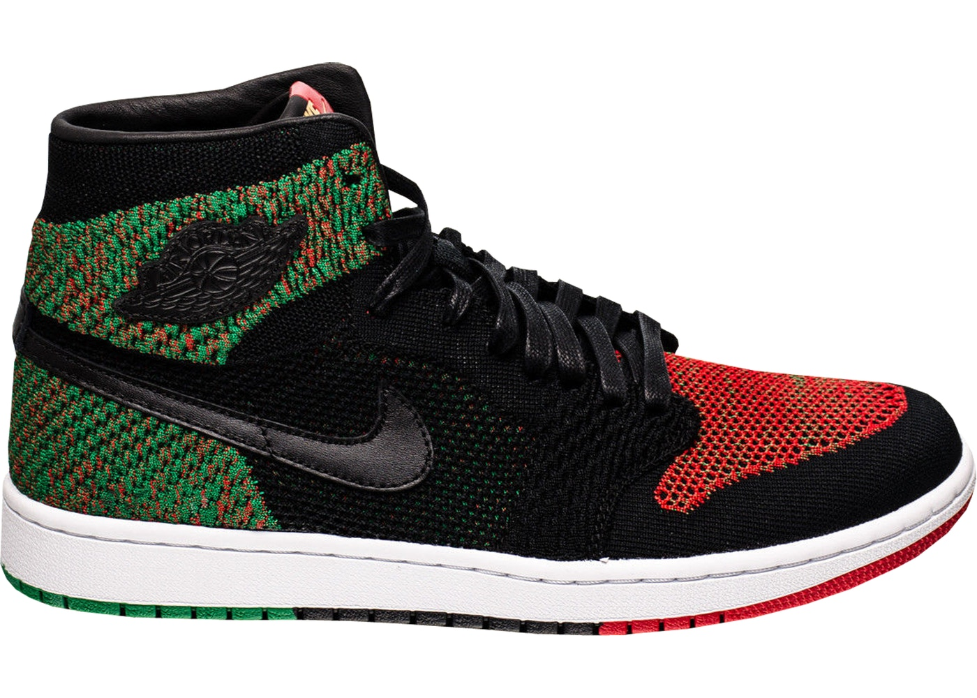 3c054d72e6d Jordan 1 Retro High Flyknit Black History Month (2018) - AA2426-026