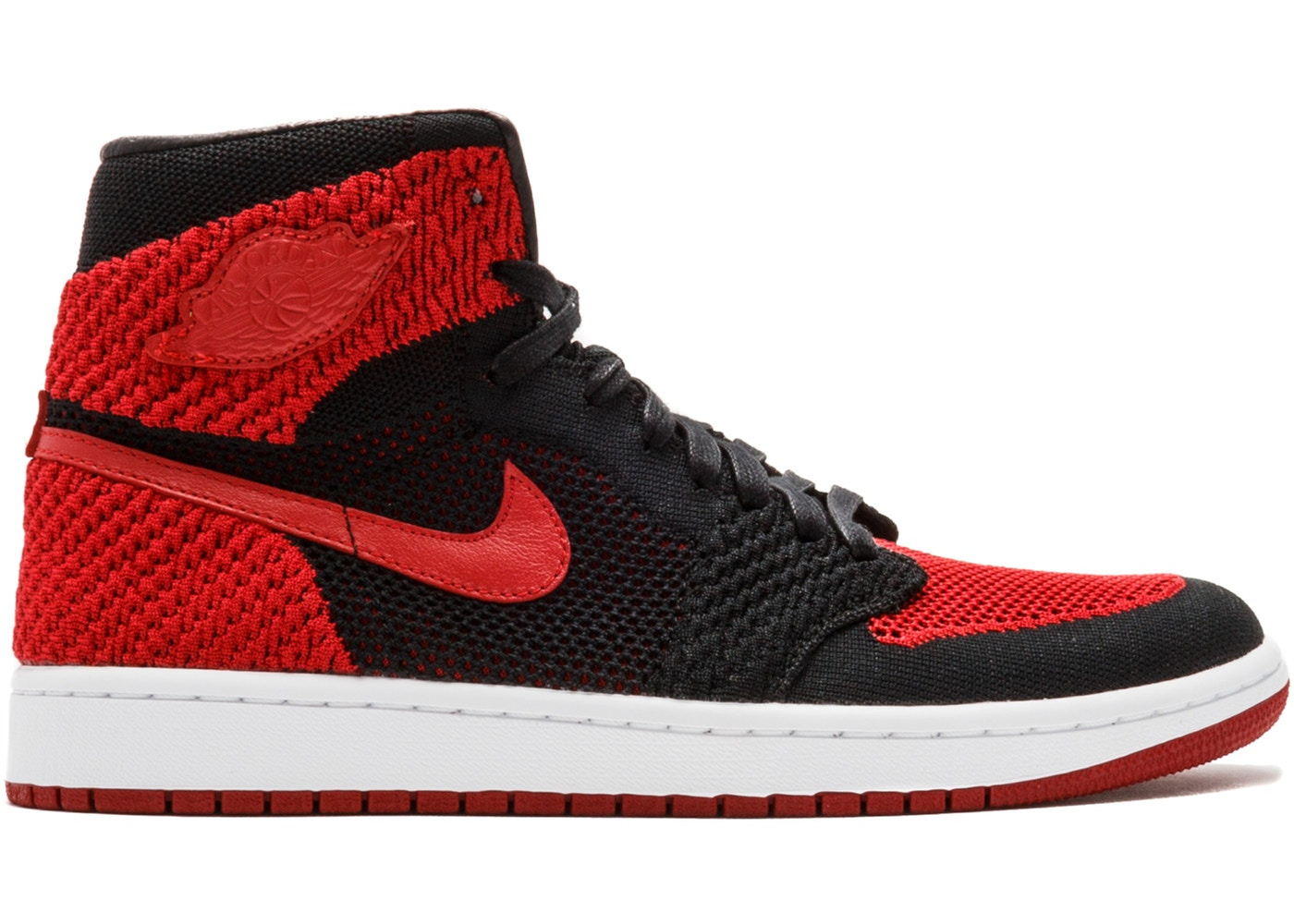0dea6e92d0d Sell. or Ask. Size: 7.5. View All Bids. Jordan 1 Retro High Flyknit Bred