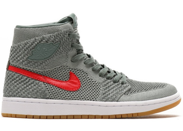 pretty nice 130bb 6e816 Jordan 1 Retro High Flyknit Clay Green (GS) - 919702-333