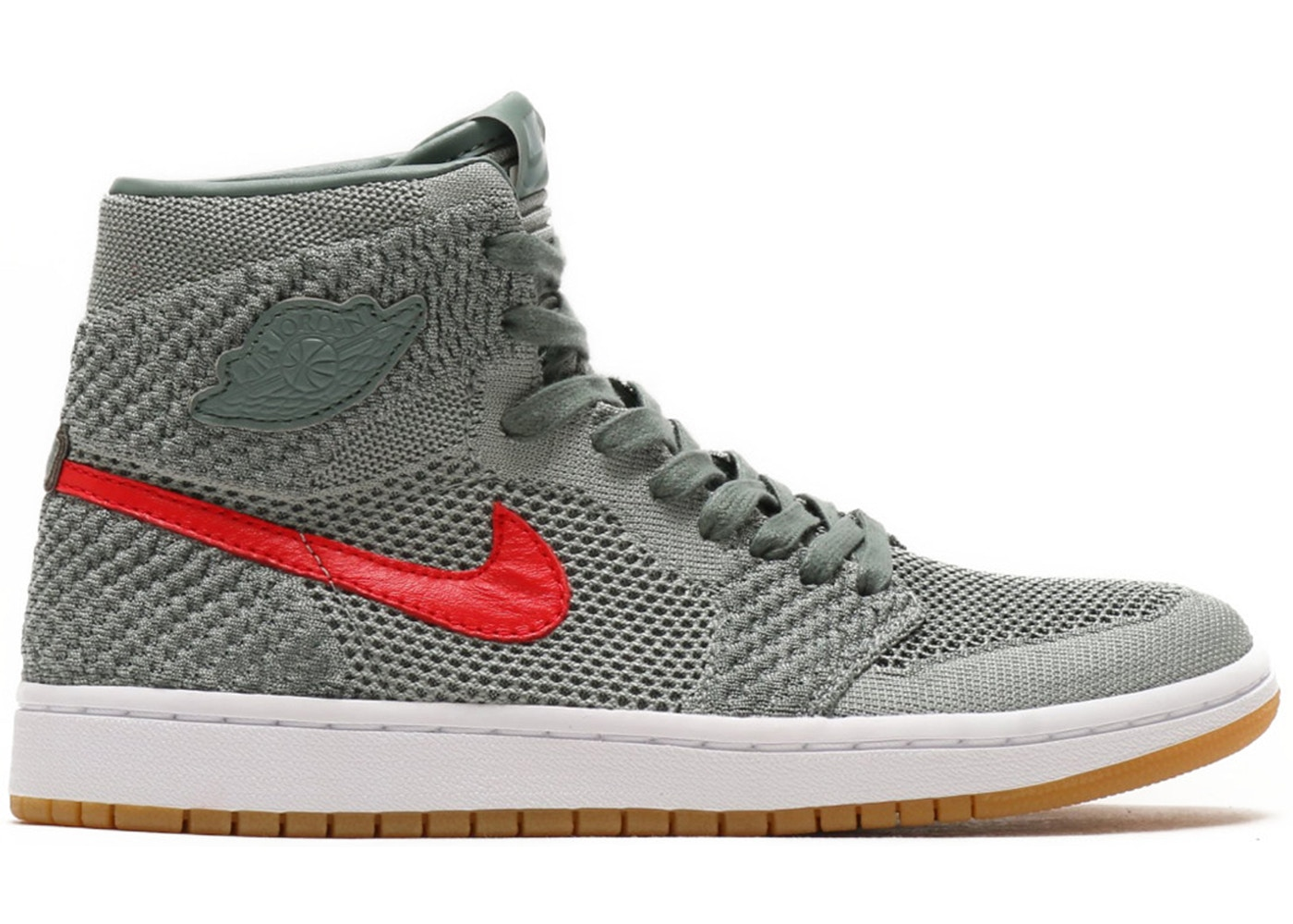 f54b62e509c Sell. or Ask. Size  4.5Y. View All Bids. Jordan 1 Retro High Flyknit Clay  Green ...