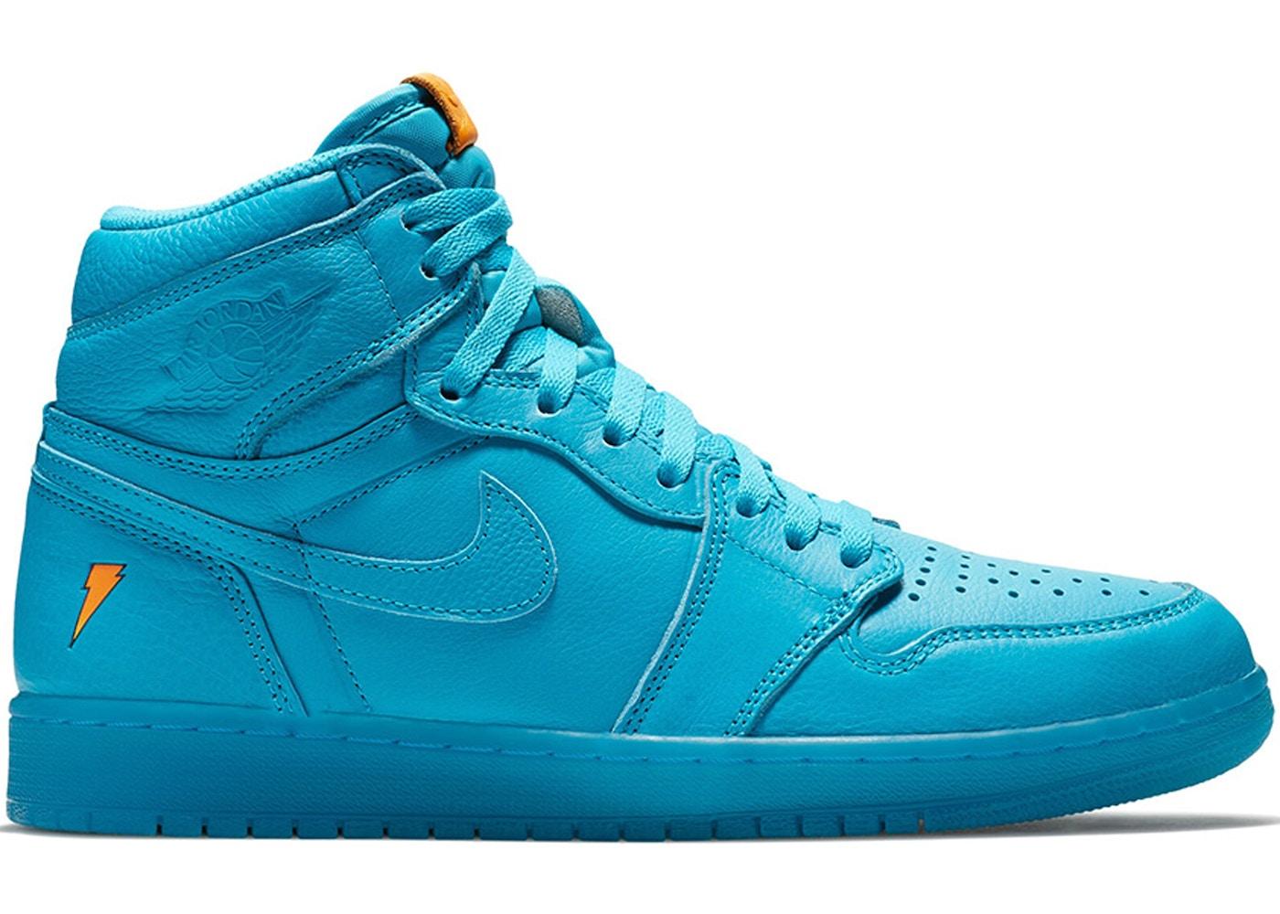 Nike Air Jordans - Gatorade - Blue Lagoon - US SIZE 12