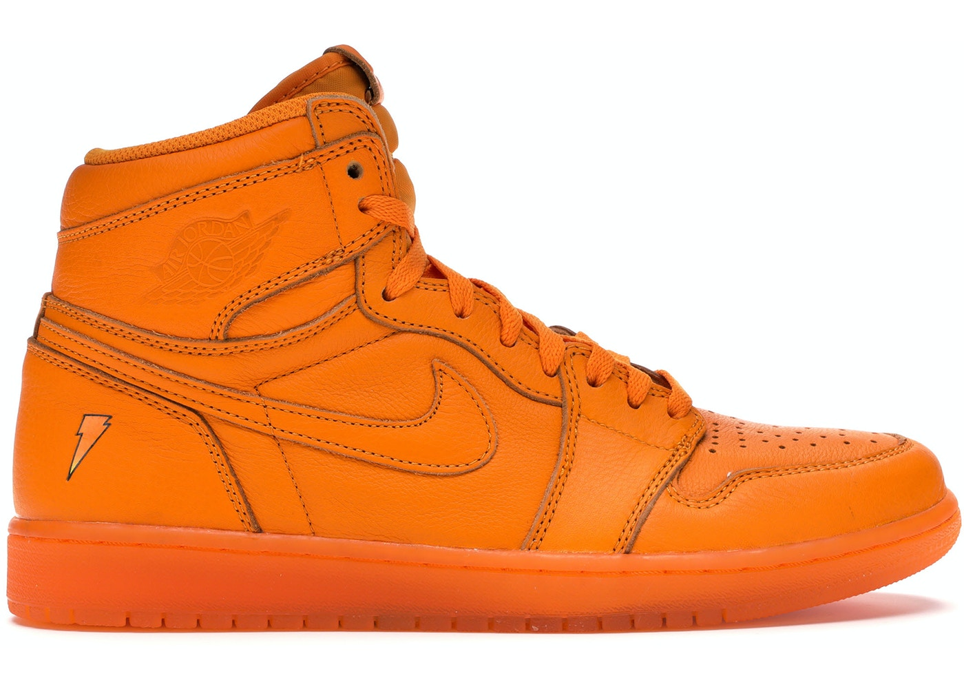 sports shoes 27993 2cdeb Jordan 1 Retro High Gatorade Orange Peel