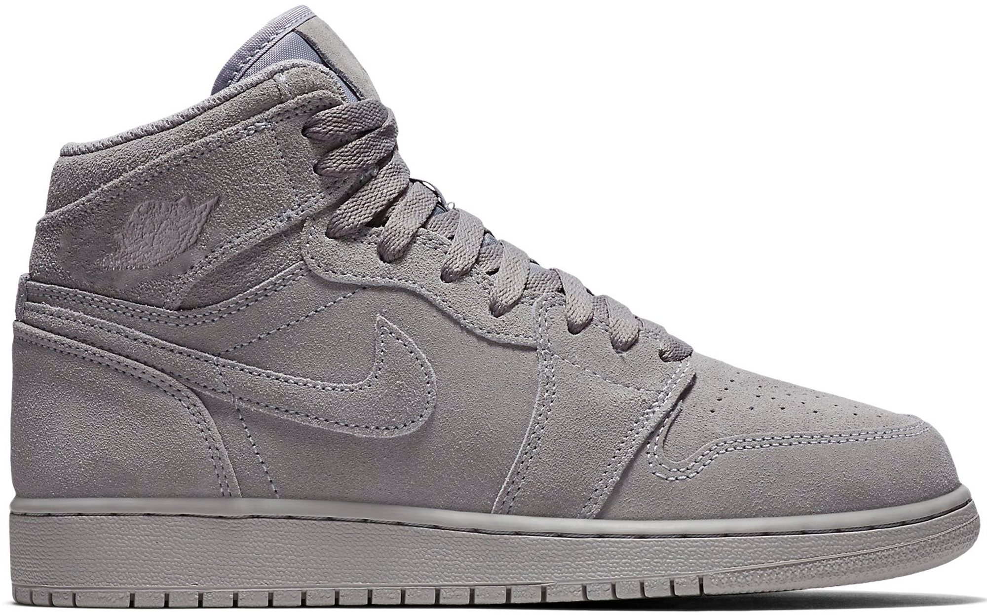 Jordan 1 Retro High Grey Suede (GS