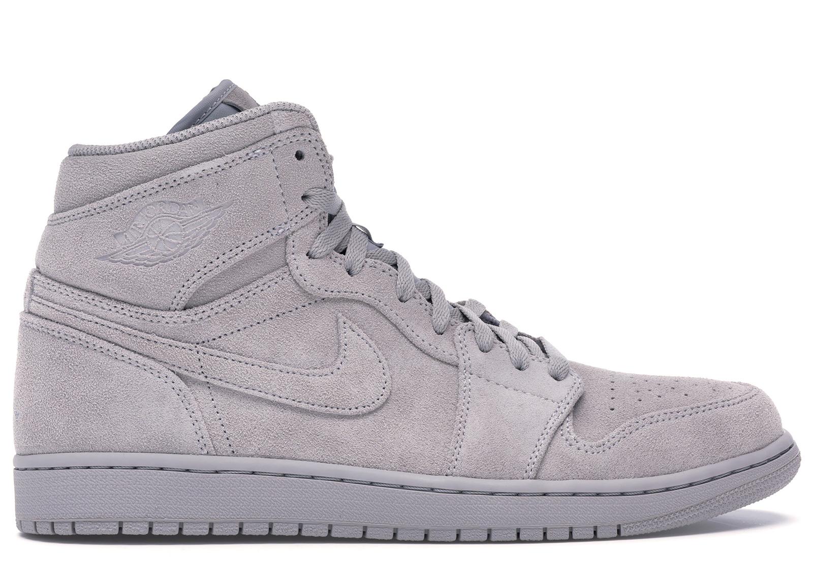 Jordan 1 Retro High Grey Suede - 332550-031