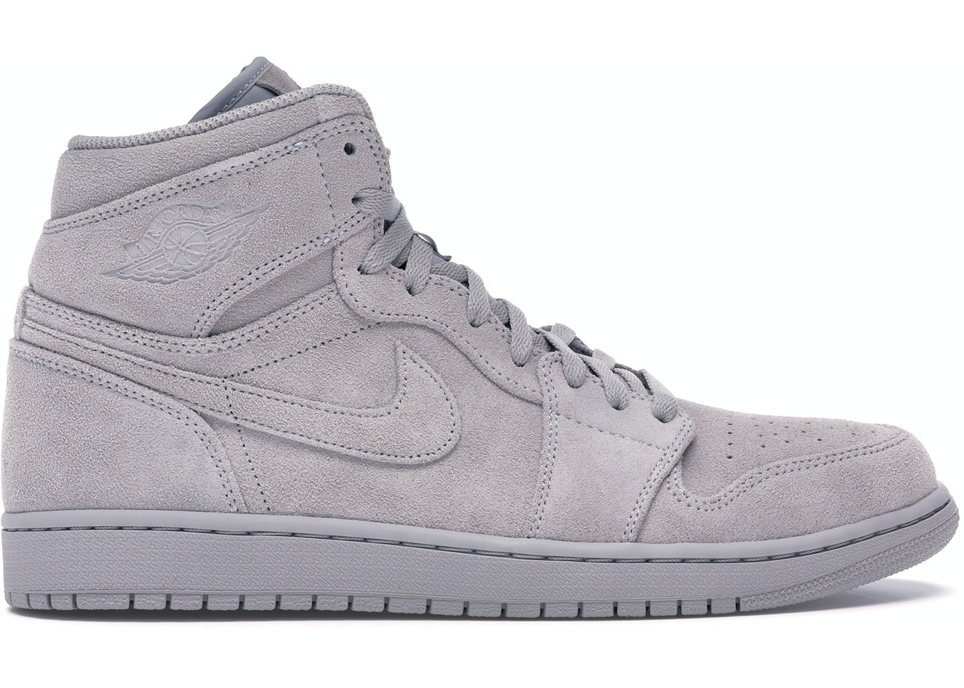 Jordan 1 Retro High Grey Suede 332550 031