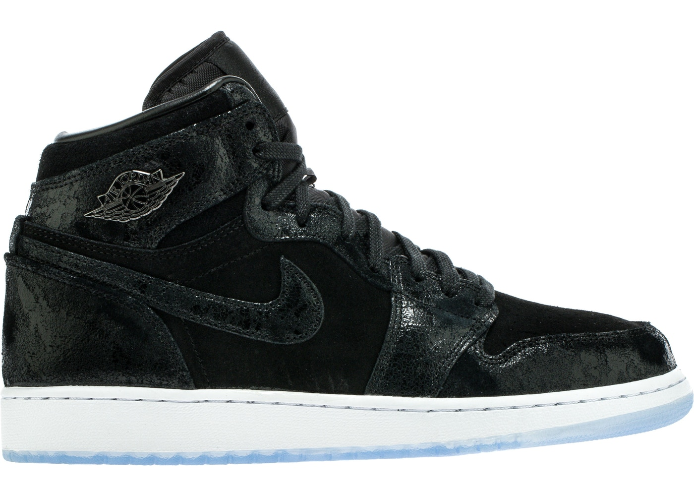 91d76ac0a02e1 Sell. or Ask. Size: 7Y. View All Bids. Jordan 1 Retro High Heiress Black  Suede (GS)
