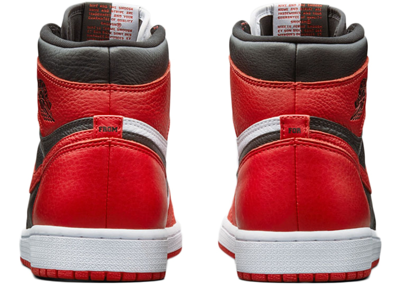 a07ab7e6f61ed8 Jordan 1 Retro High Homage To Home Chicago (Numbered) - AR9880-023