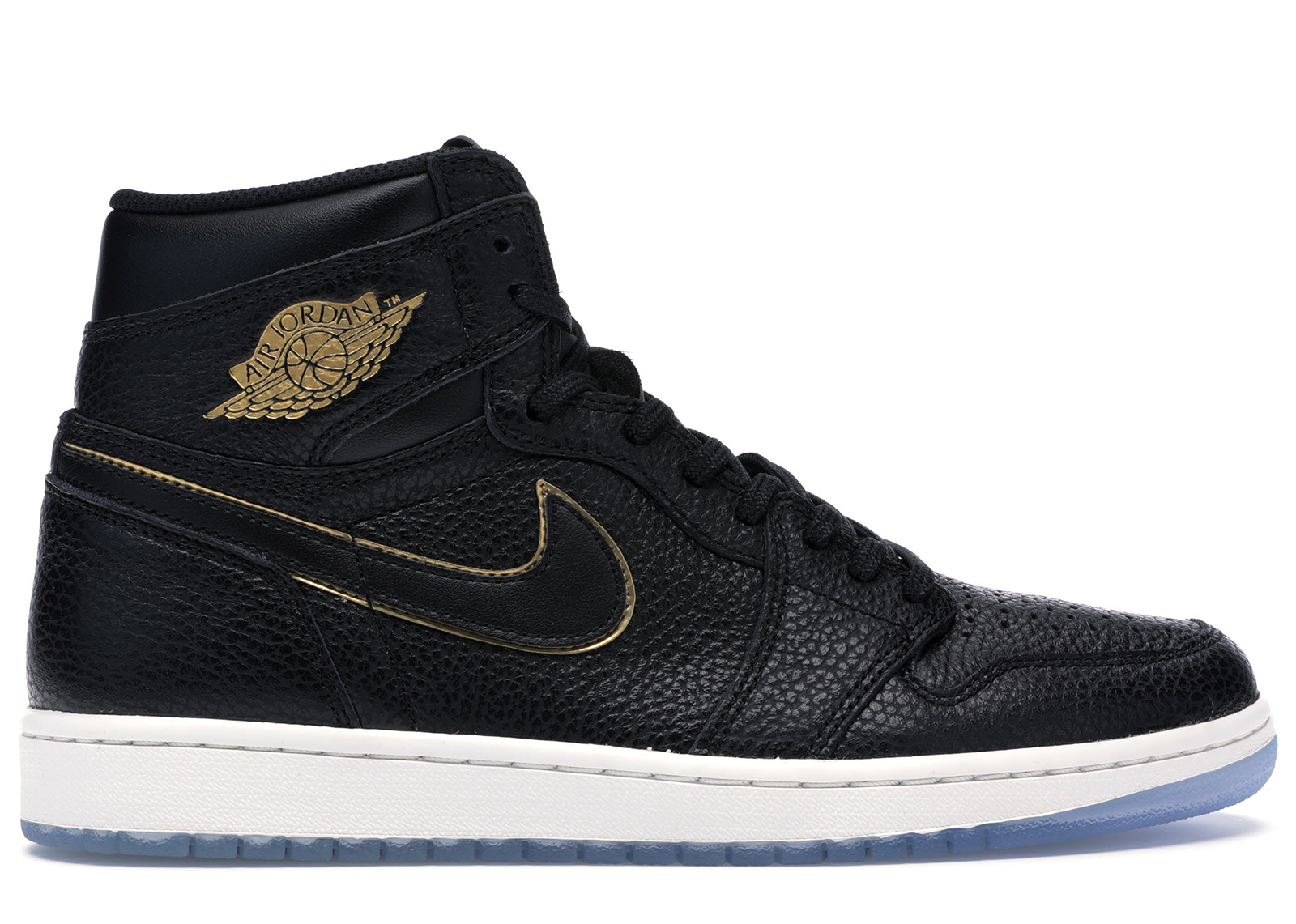 jordan 1 retro high og black and gold
