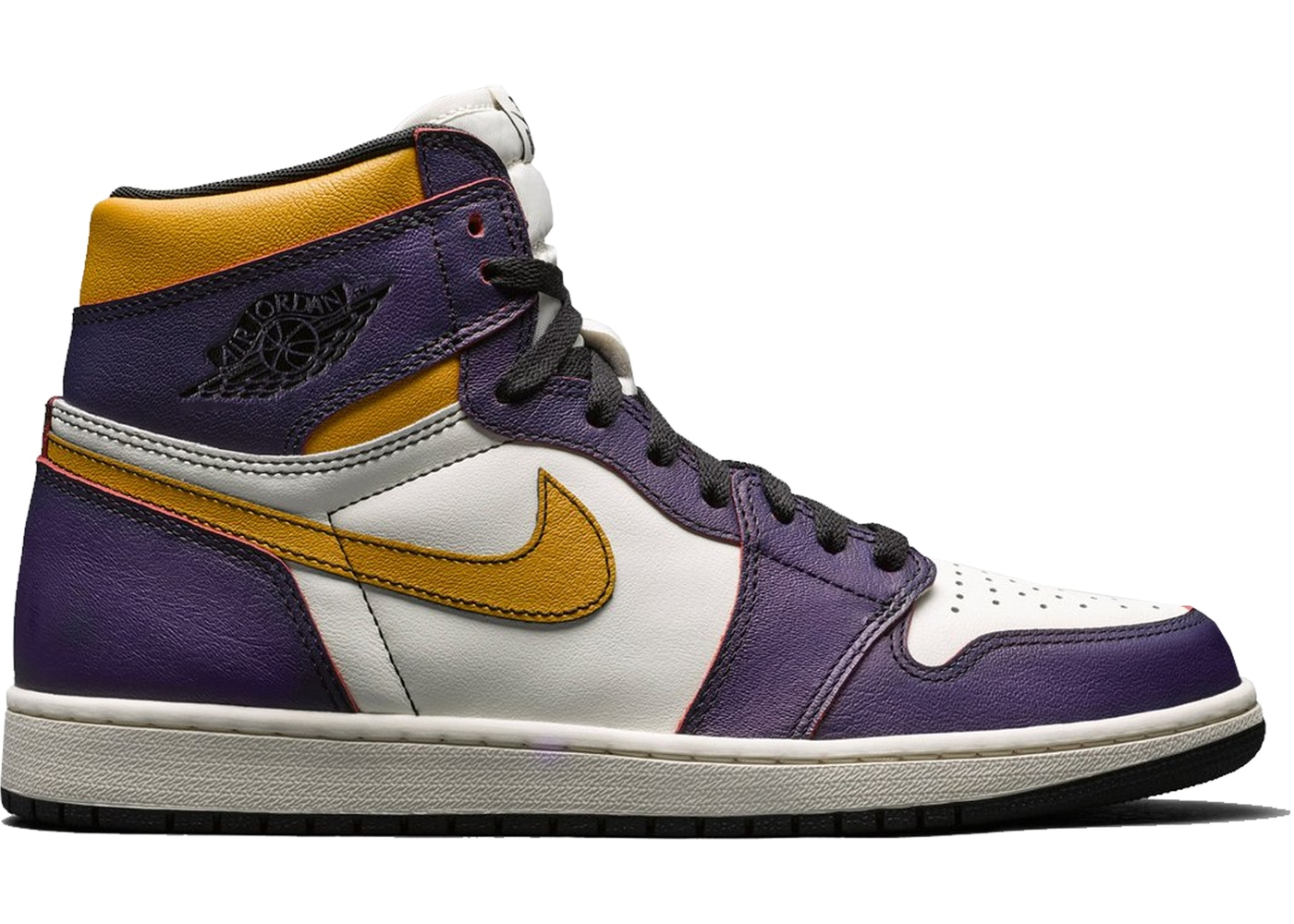 preview of genuine shoes superior quality Jordan 1 Retro High OG Defiant SB Lakers • Buy/Sell StockX