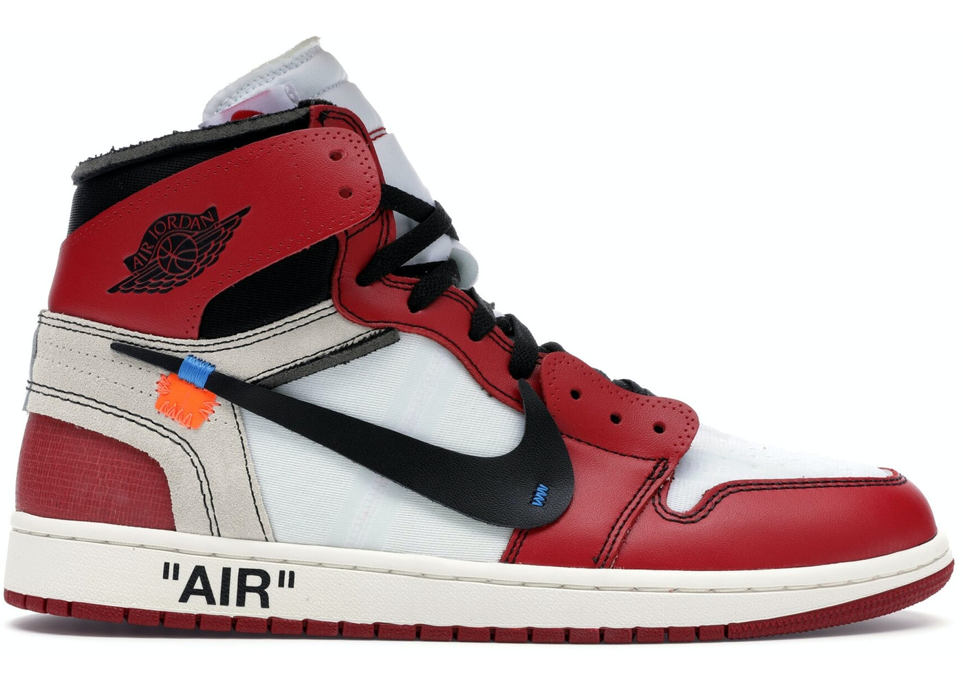 2438355b004 Jordan 1 Retro High Off-White Chicago - AA3834-101
