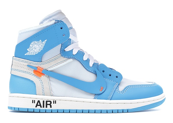 Jordan 1 Retro High Off,White University Blue