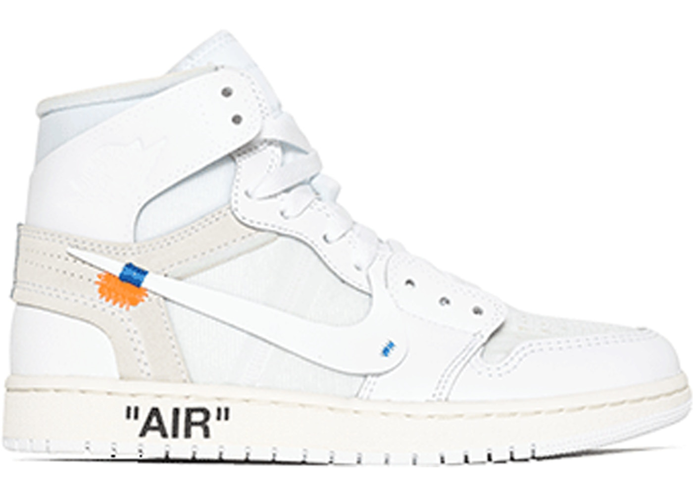 the best attitude ba243 2fee7 Jordan 1 Retro High Off-White White (GS)