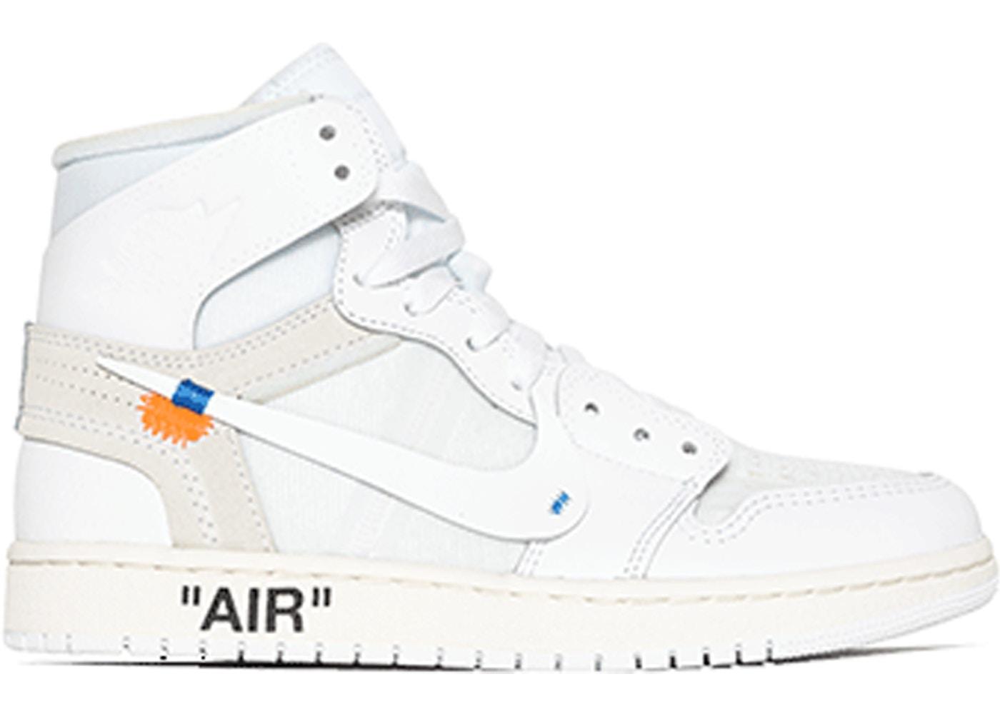 air jordan 1 por off white