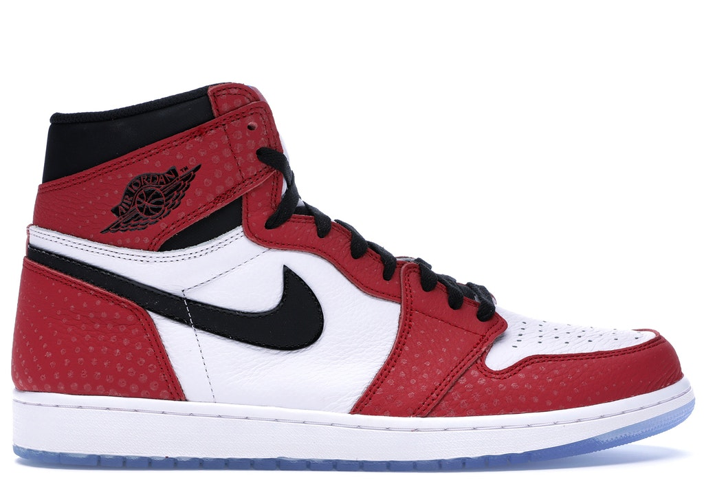 Jordan 1 Retro High Spider,Man Origin Story
