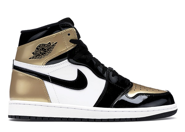 Jordan 1 Retro High NRG Patent Gold Toe