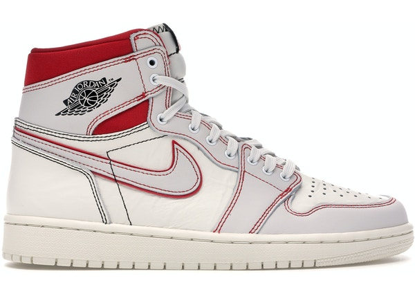buy online f3435 28cf8 Jordan 1 Retro High Phantom Gym Red