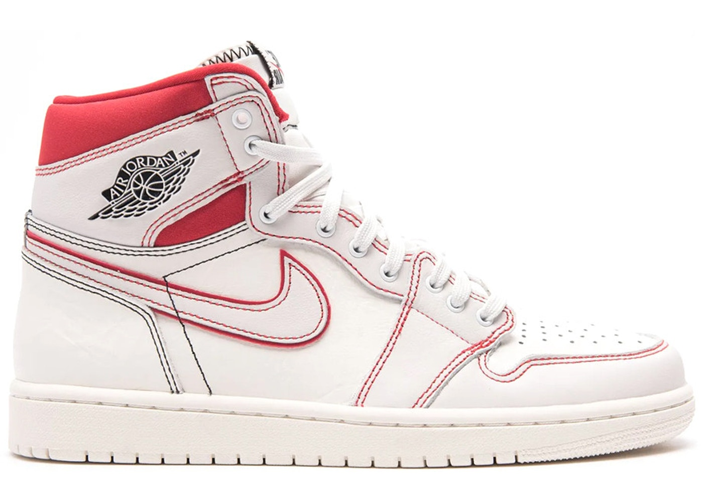 Jordan 1 Retro High Phantom Gym Red - 555088-160 184d14f4b