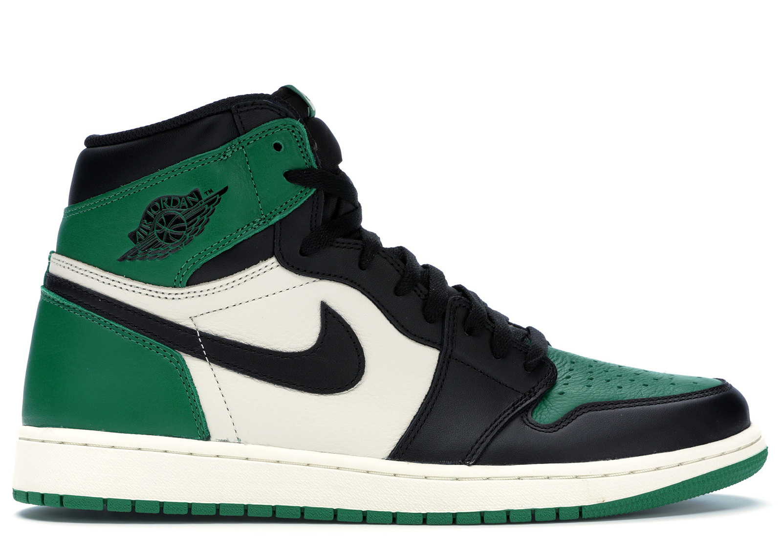 air jordan 1 retro high og verde