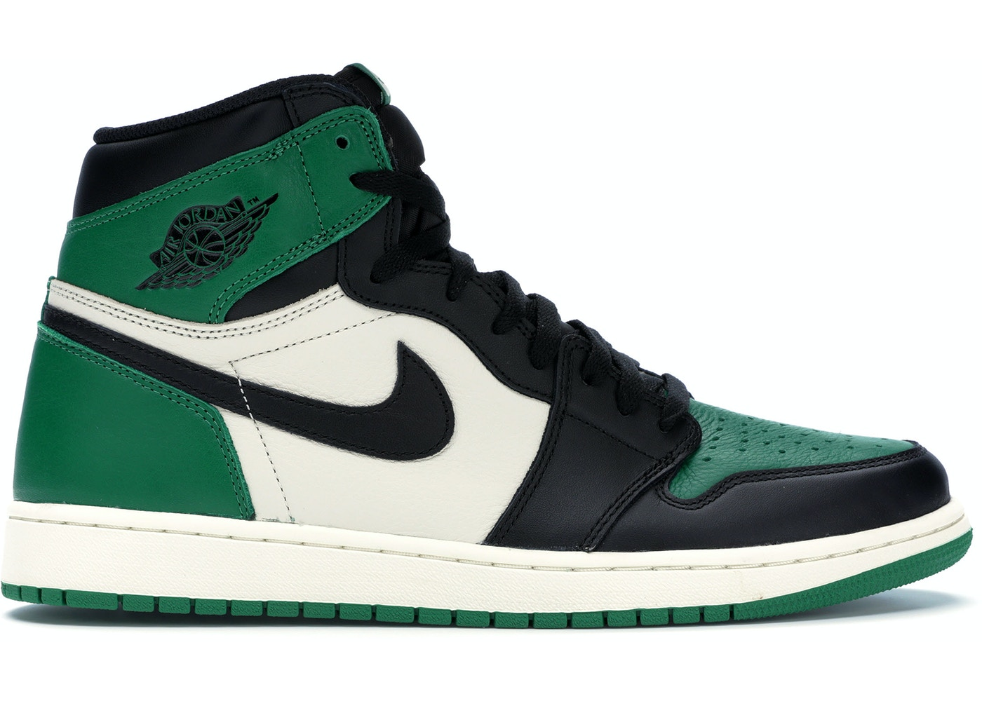 e3086a2eda8549 Jordan 1 Retro High Pine Green - 555088-302