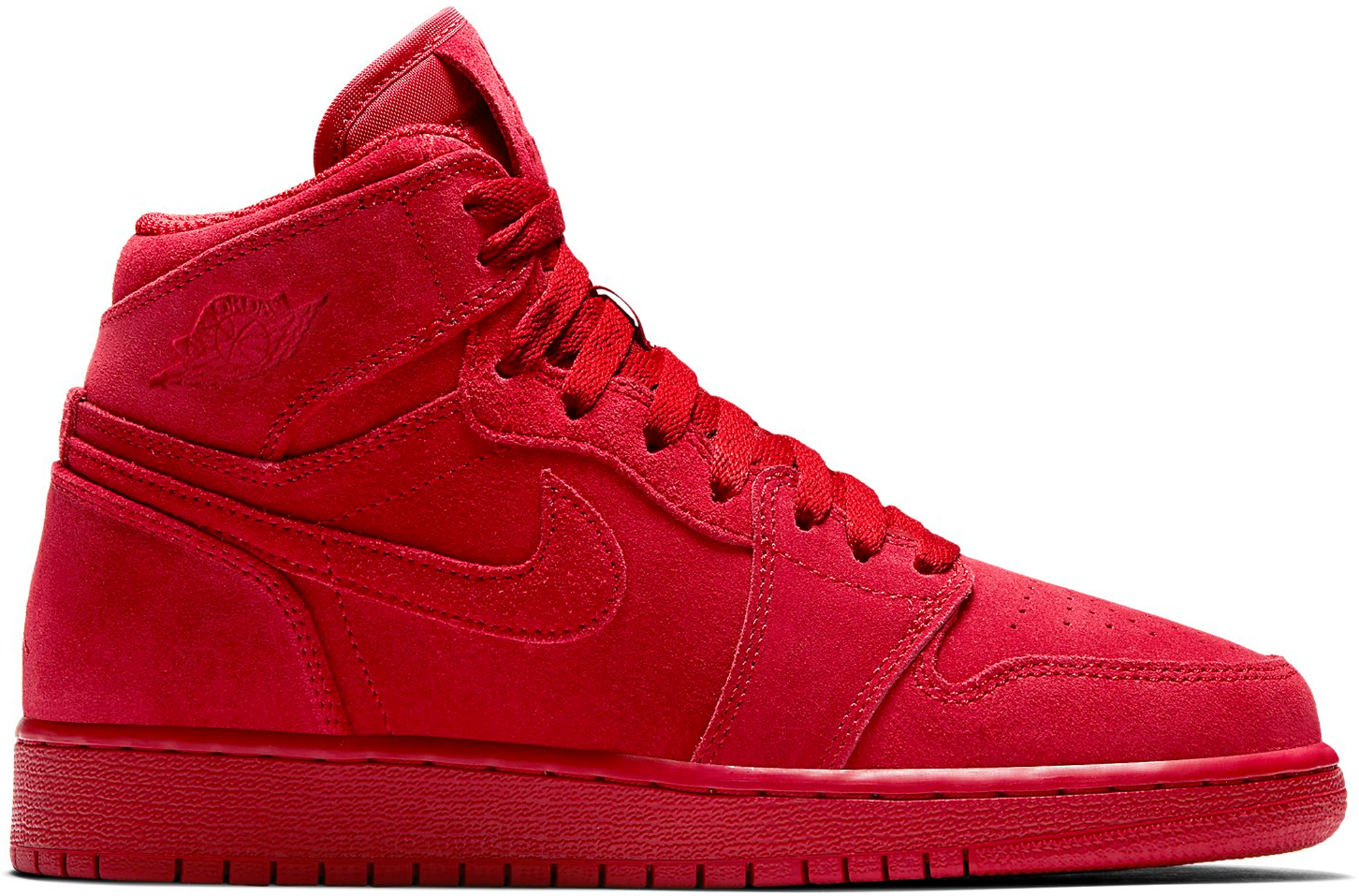 Jordan 1 Retro Red Suede (GS)