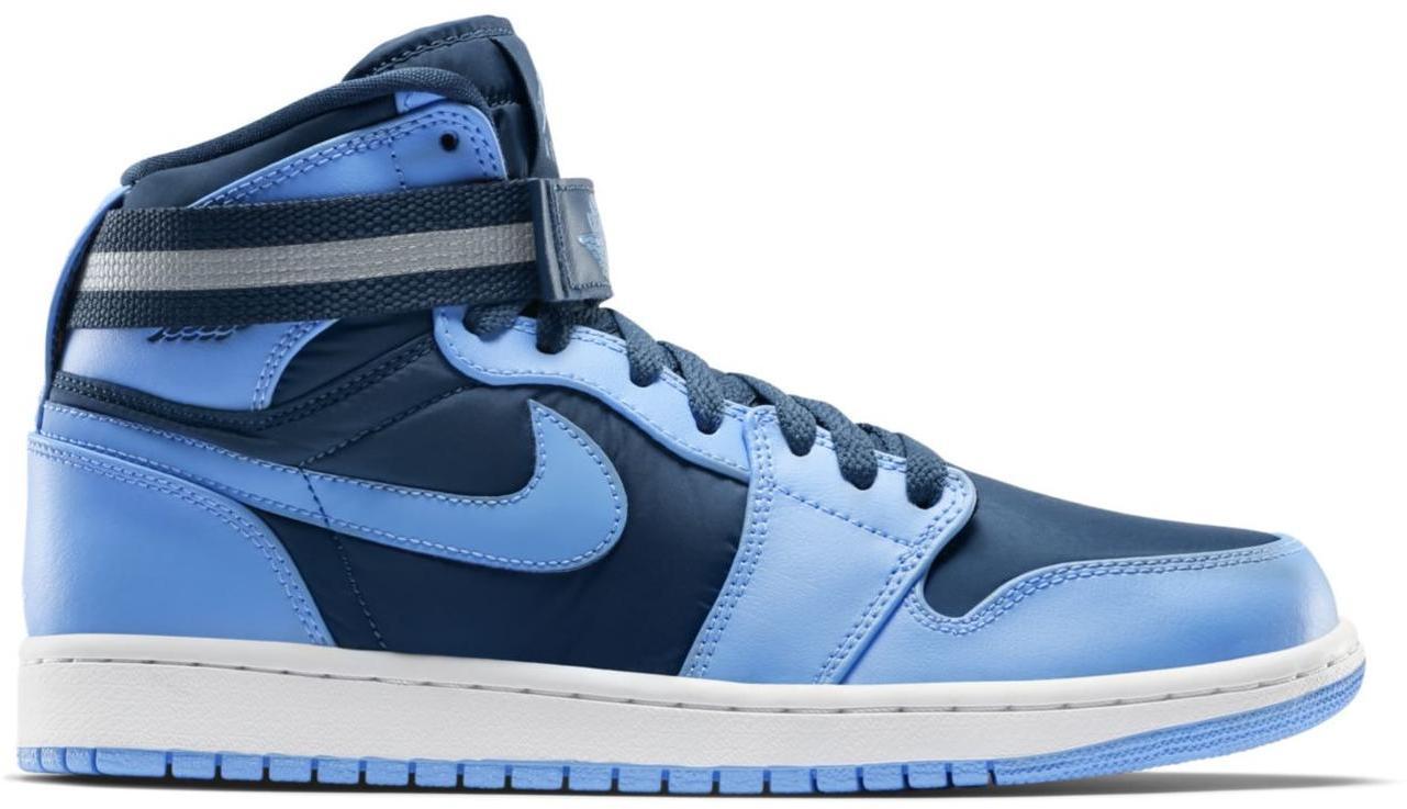 Men's Nike Air Jordan AJ 1 High Strap French Blue University Blue Sneakers : X4a6631