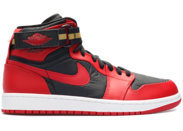 e6bdcab81eb Jordan 1 Retro High Strap Gym Red - 342132-002