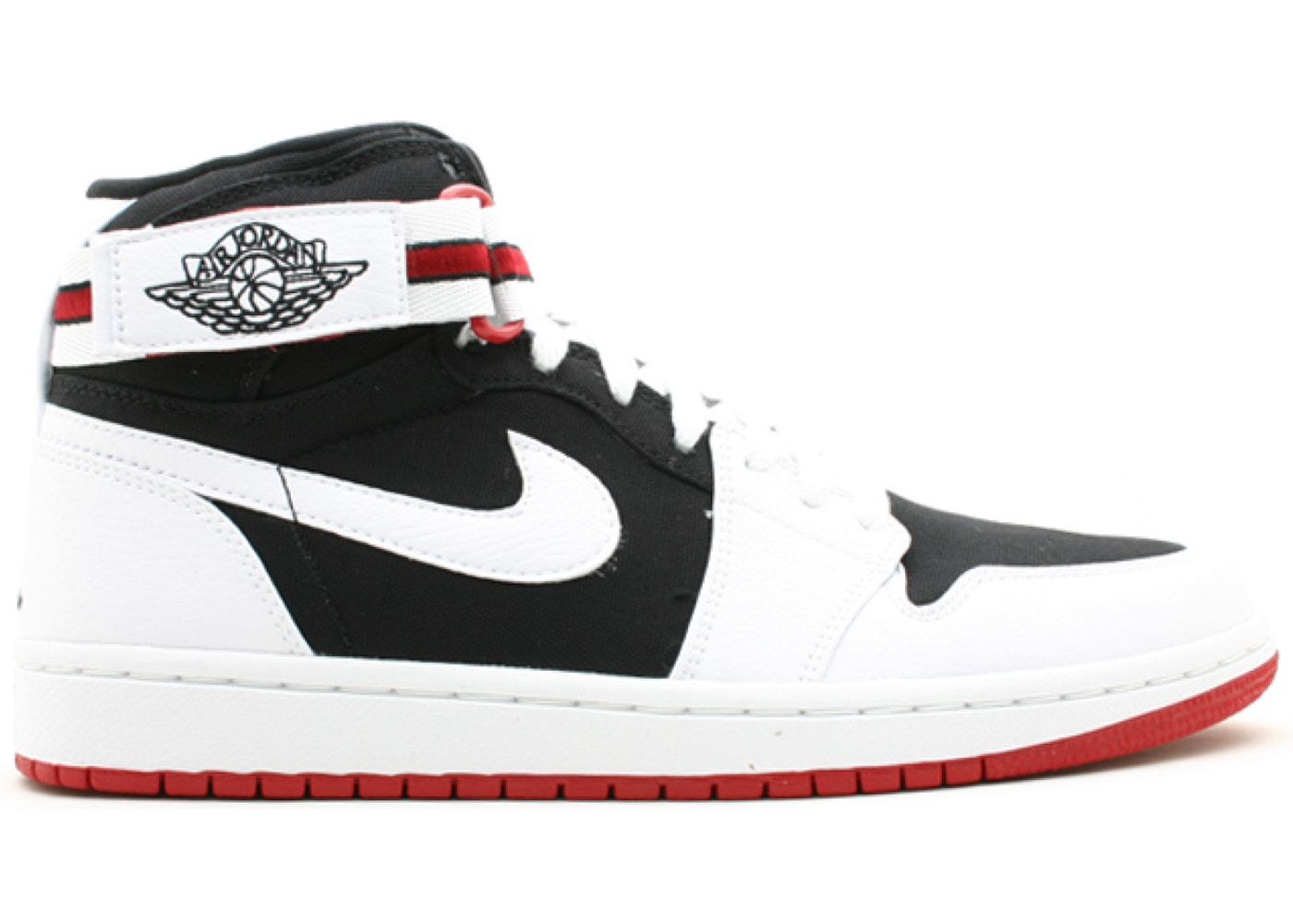 5343937b3d49 Jordan 1 Retro High Strap White Black Varsity Red - 342132-101