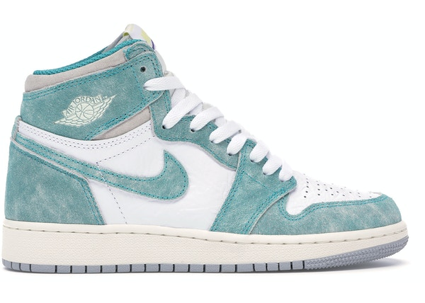 best service 8ce53 f4623 Jordan 1 Retro High Turbo Green (GS)