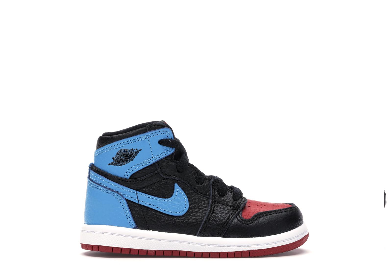 jordan 1 high unc leather